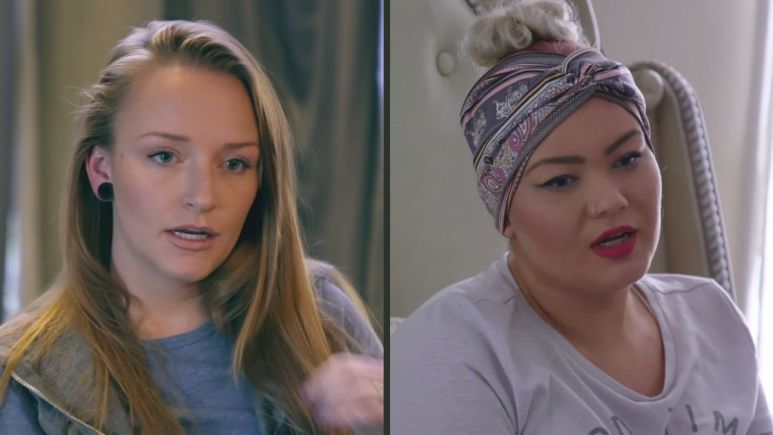 Teen Mom OG stars Amber Portwood and Maci Bookout talk about filming during the pandemic