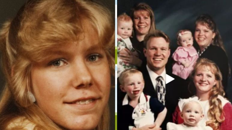 Young Meri Brown and family of Sister Wives