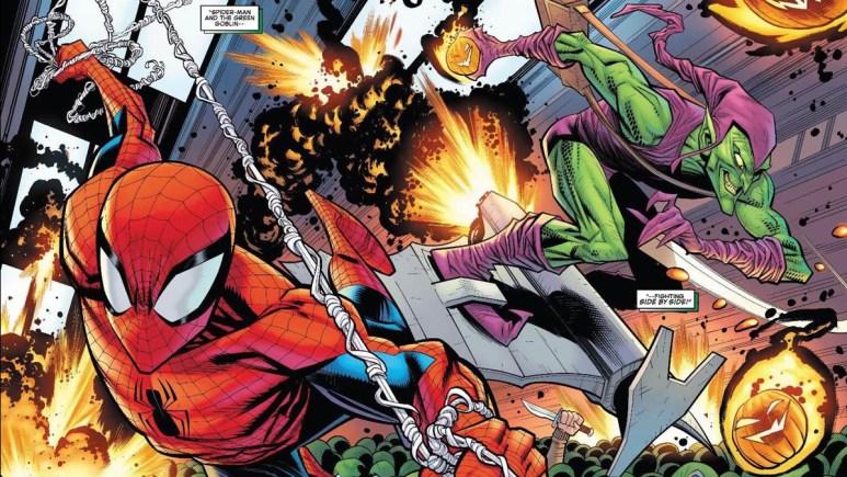 Green Goblin in Spider-Man 3 Comics.