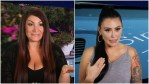 Deena Cortese and Jenni Farley during an episode of Jersey Shore Family Vacation