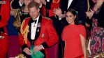 Prince Harry and Meghan Markle attend an event in London