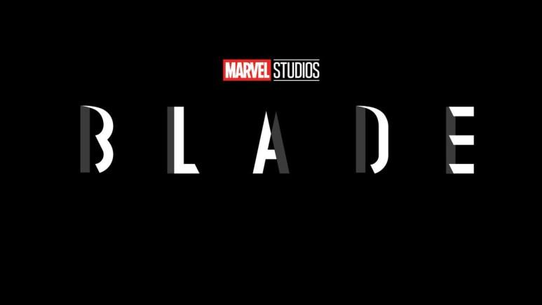 Wesley Snipes in Blade reboot Logo.