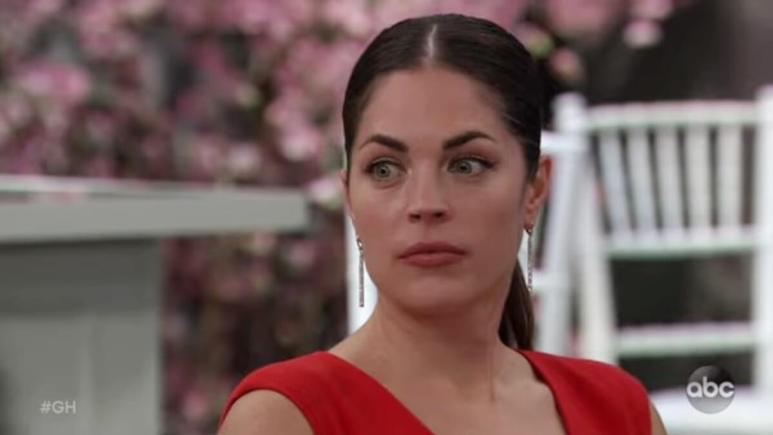 Kelly Thiebaud as Britt on General Hospital.