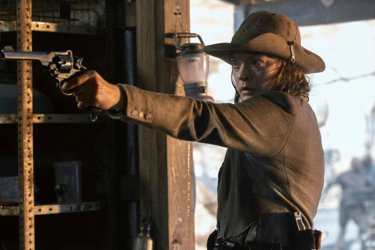 Colby Minifie stars as Virginia, as seen in Episode 6 of AMC's Fear the Walking Dead Season 6
