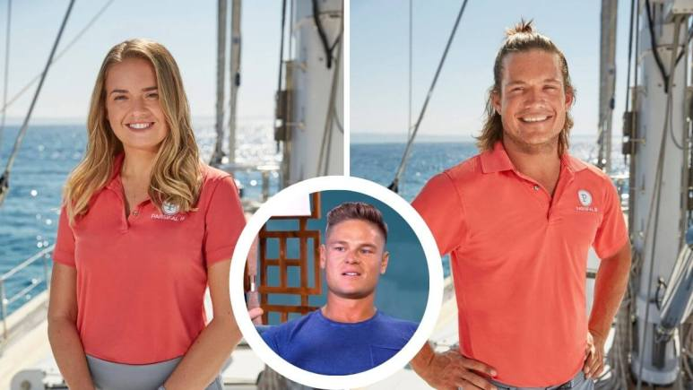 Daisy reacts to fans dissing Below deck Sailing Yacht crew member Gary.