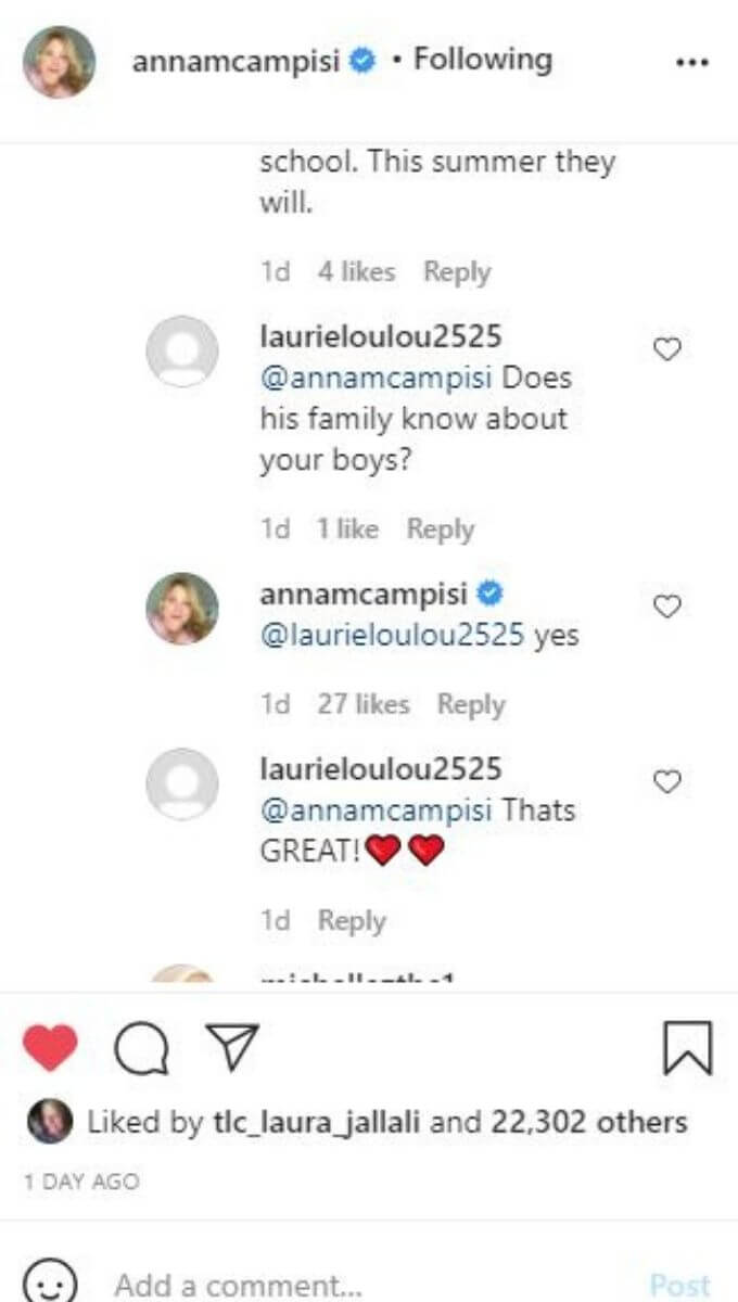Anna from 90 Day fiance answered followers