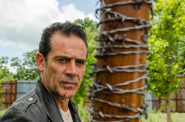 Jeffrey Dean Morgan stars as Negan, as seen in Episode 8 of AMC's The Walking Dead Season 7