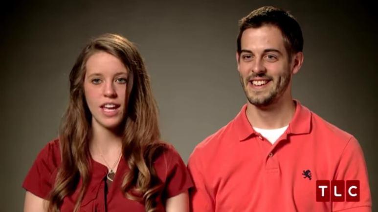 Jill Duggar and Derick Dillard on 19 Kids and Counting.