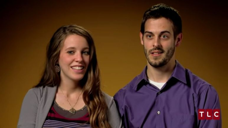 Jill Duggar and Derick Dillard in Counting On confessional.