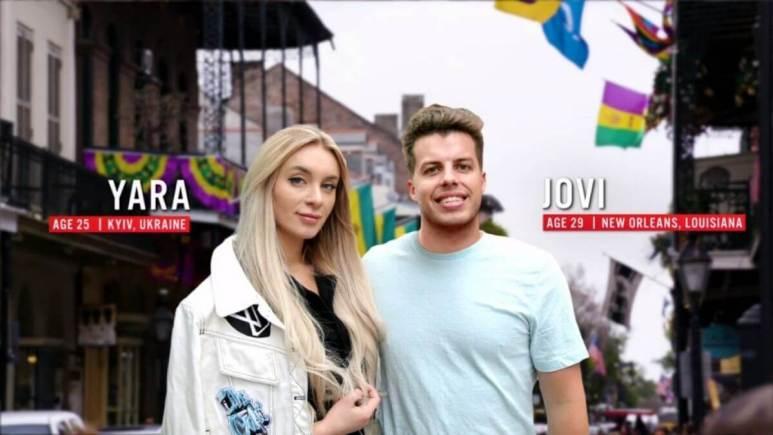 Jovi and Yara from Season 8 of 90 Day Fiance