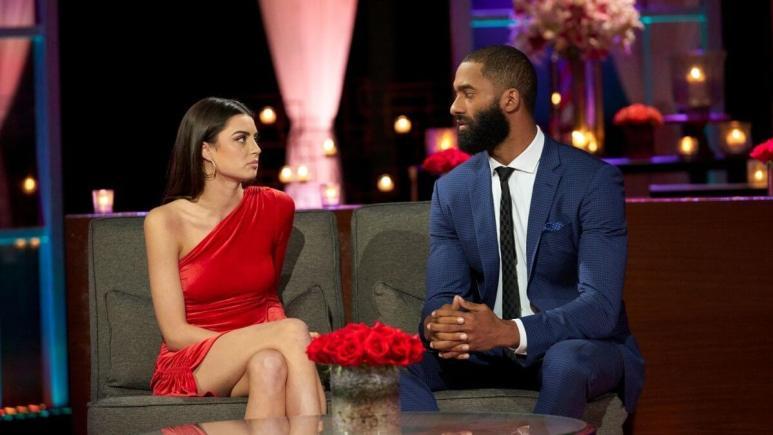 Matt James and Rachael Kirkconnell on The Bachelor's After the Final Rose