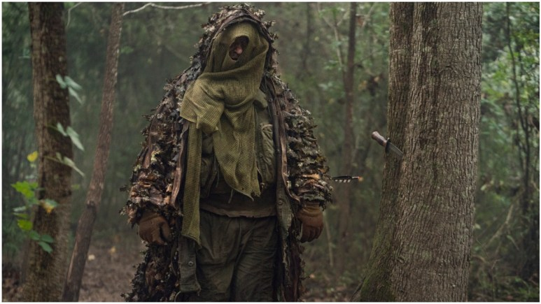 Mike S. Whinnet stars as a member of the Reapers group, as seen in Episode 17 of AMC's The Walking Dead Season 10C