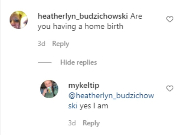 Mykelti Padron of Sister Wives on Instagram