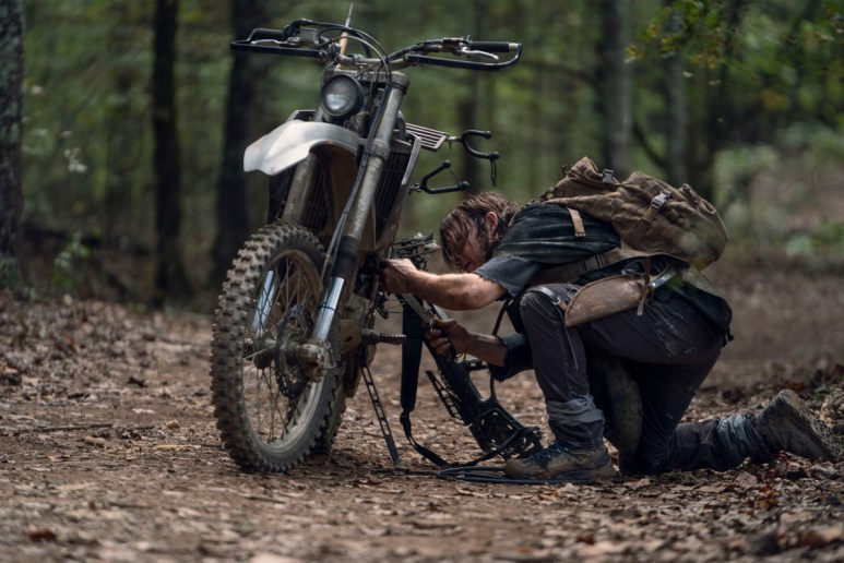 Norman Reedus stars as Daryl Dixon in Episode 21 of AMC's The Walking Dead Season 10C