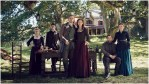 Cast group photo for Season 5 of Starz's Outlander