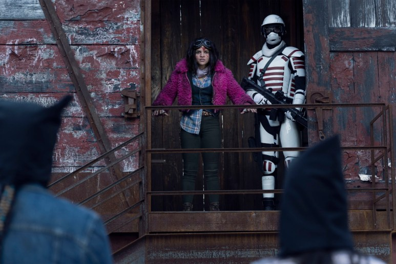 Paola Lazaro as Juanita 'Princess' Sanchez, as seen in Episode 20 of AMC's The Walking Dead Season 10C
