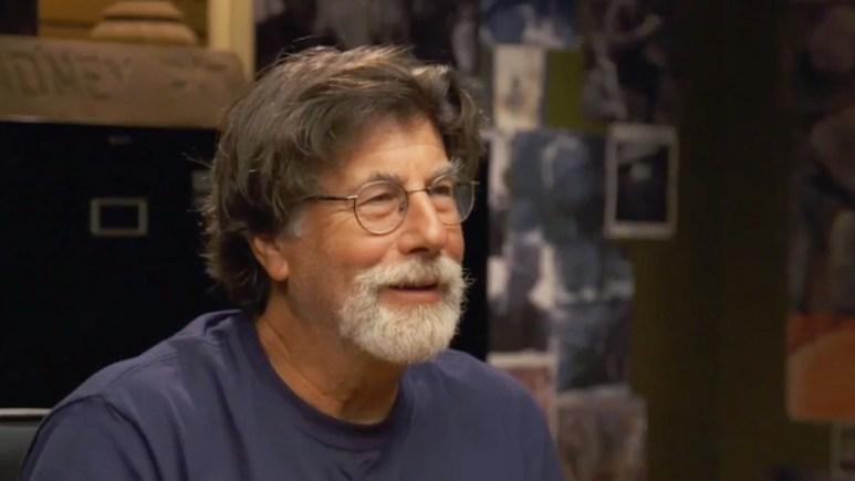 Rick Lagina in the War Room on Oak Island