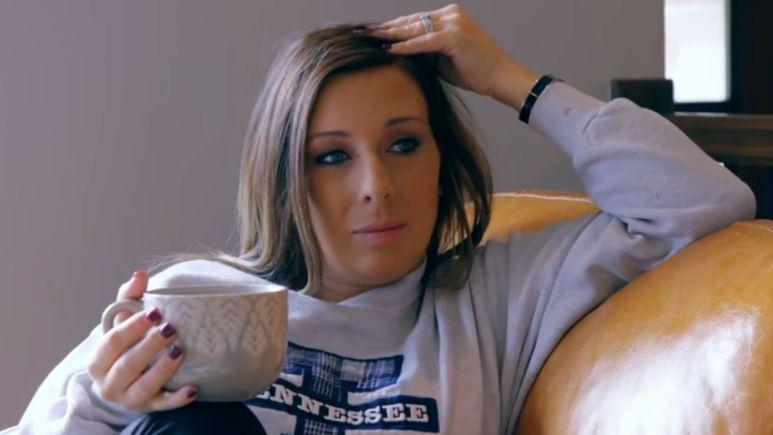 Mackenzie Edwards during an episode of Teen Mom OG