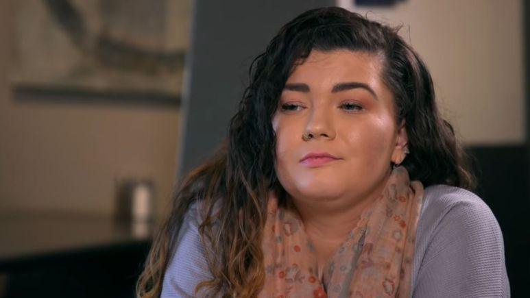 Amber Portwood during an episode of Teen Mom OG