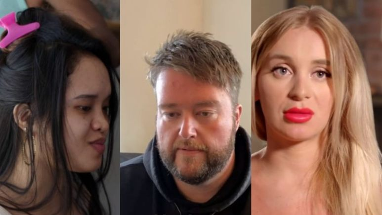 Yara, Hazel, and Mike from 90 Day Fiance