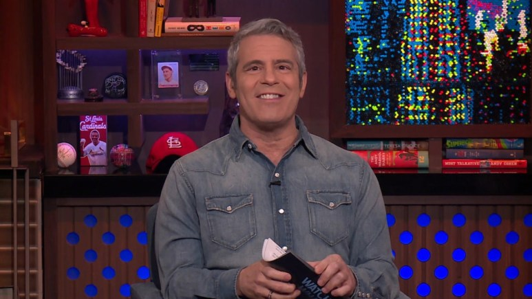 Andy Cohen spills if he is friendly with all the Bravo Housewives.