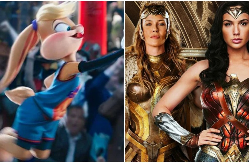 Wonder Woman's Amazons appear in Space Jam 2