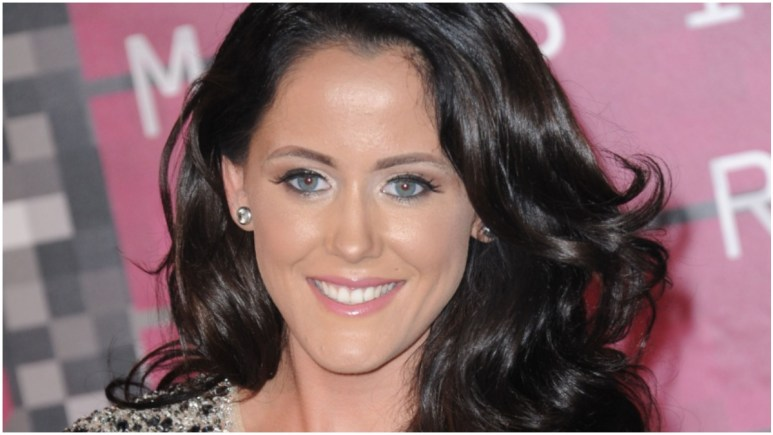 Jenelle Evans arriving at the 2015 MTV Video Music Awards.