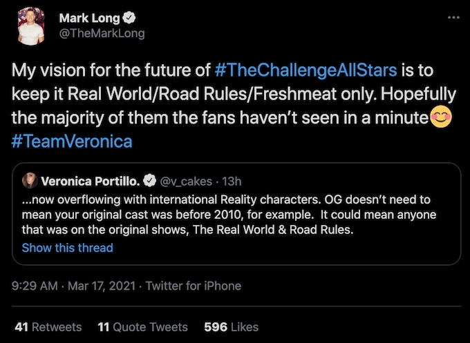 mark long explains vision for future of all stars in tweet reply