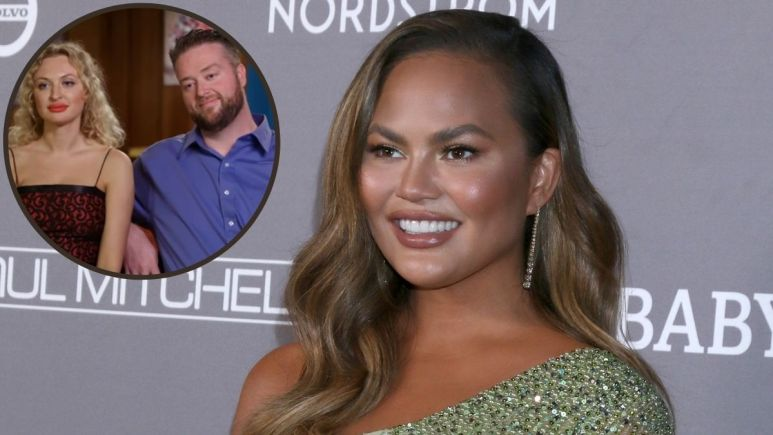 Chrissy Teigen and Mike and Natalie from 90 Day Fiance.