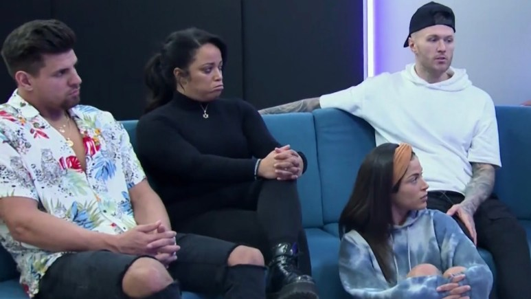 the challenge competitors in double agents episode 13 deliberation