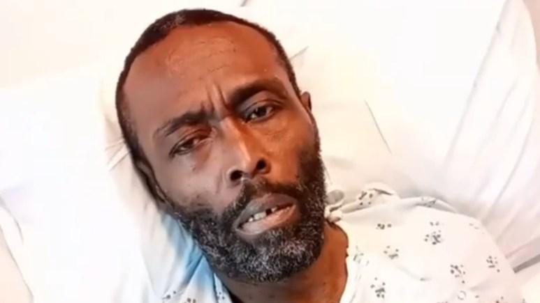 Black Rob hospital photo