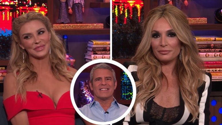 Brandi Glanville pleads with Andy Cohen to let her replace Kate Chastain on Bravo's Chat Room.