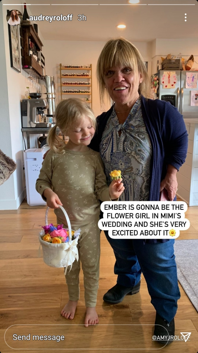 Audrey, Ember and Amy Roloff of Little People Big World on Instagram