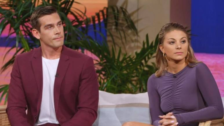 Erin and Corey at the Temptation Island reunion