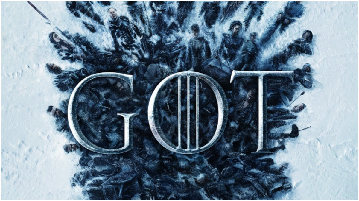 Cropped poster for Season 8 of HBO's Game of Thrones