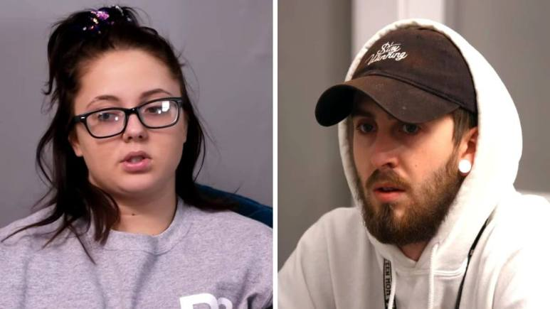 Jade Cline and Sean Austin of Teen Mom 2