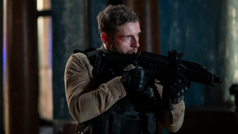 Jamie Bell as Robert Ritter in Without Remorse.