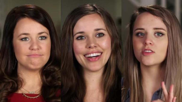 Jana, Jessa, Jinger in Counting On confessionals.