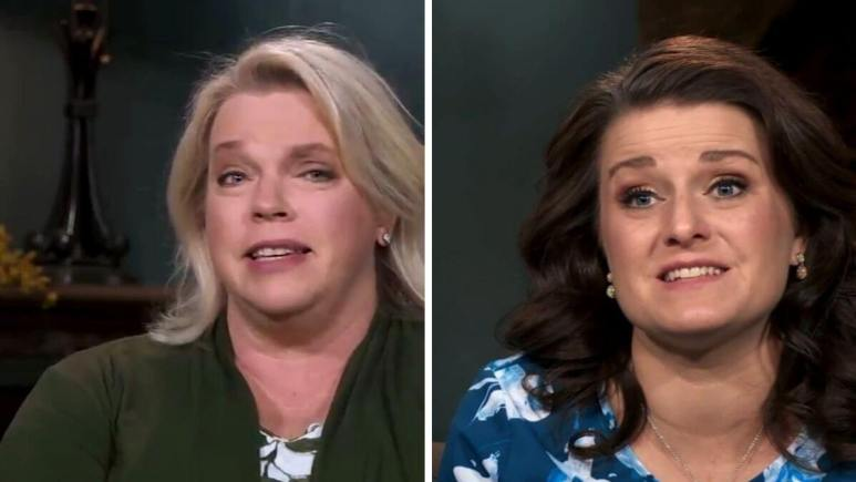 Janelle and Robyn Brown of Sister Wives