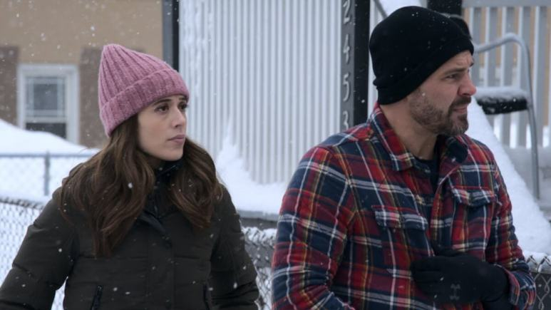 Kim and Adam on Chicago P.D.