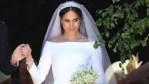 Meghan Markle at her wedding