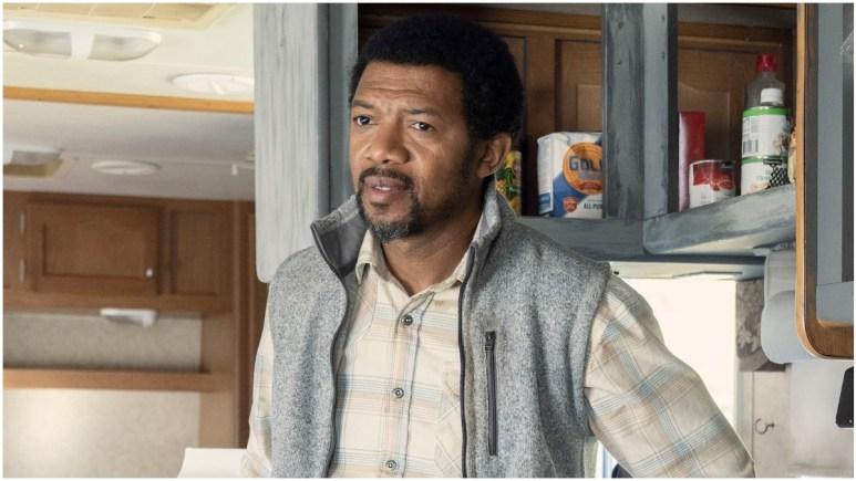 Miles Mussenden stars as Franklin, as seen in Episode 22 of AMC's The Walking Dead Season 10C