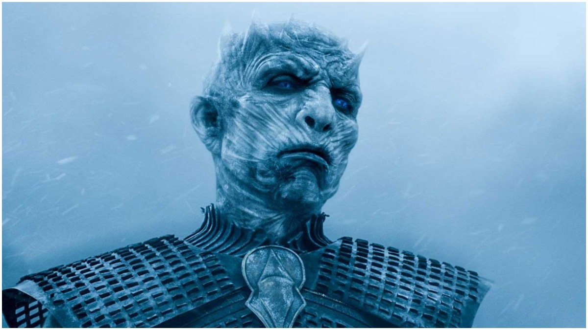 The Night King, as seen in HBO's Game of Thrones