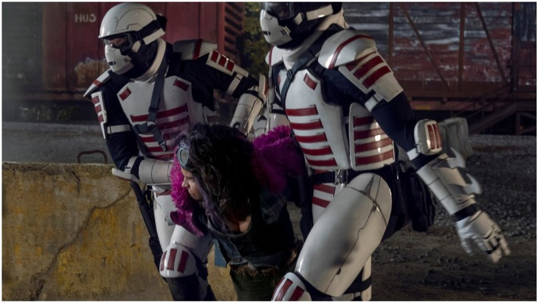Paola Lazaro stars as Princess, as seen in Season 10C of AMC's The Walking Dead