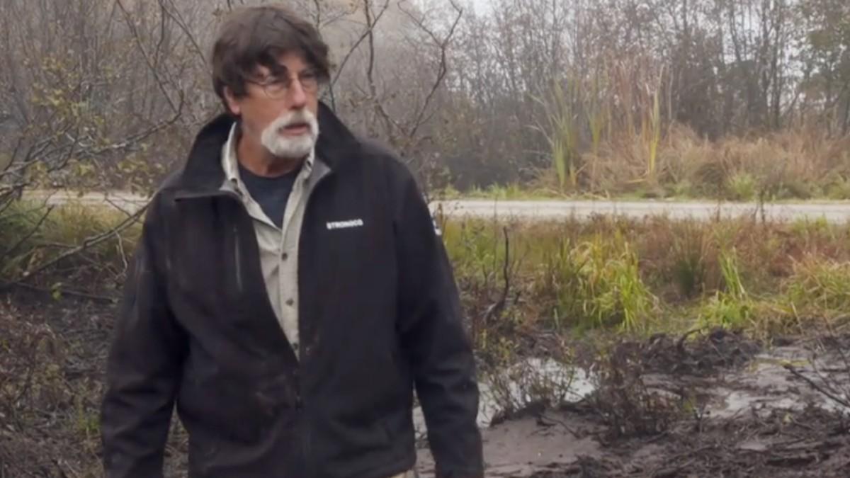 Rick Lagina heads to the swamp
