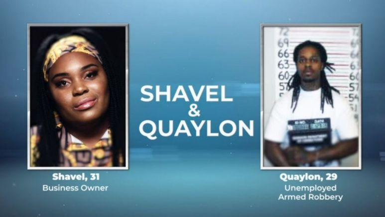 Shavel and Quaylon from Love After Lockup