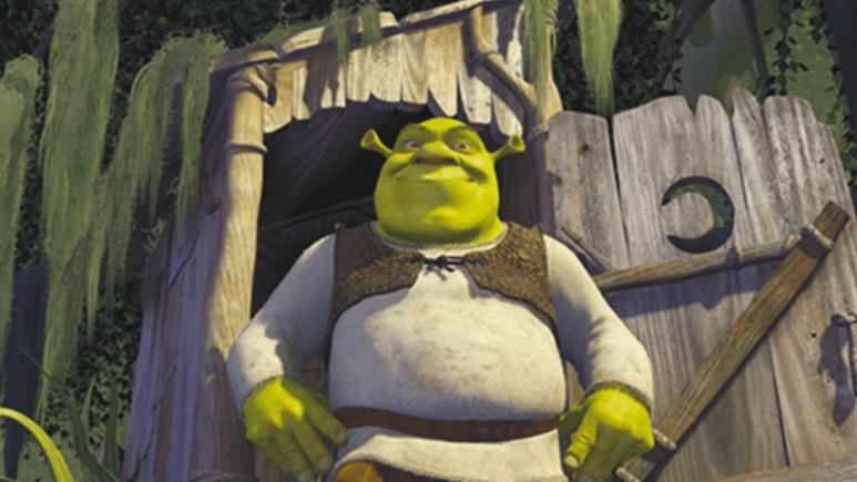 Production still from Shrek.