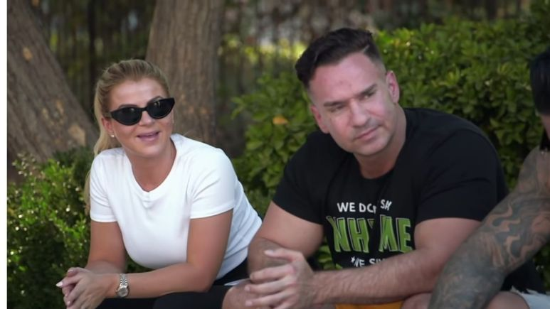 Mike and Lauren Sorrentino on Jersey Shore Family Vacation
