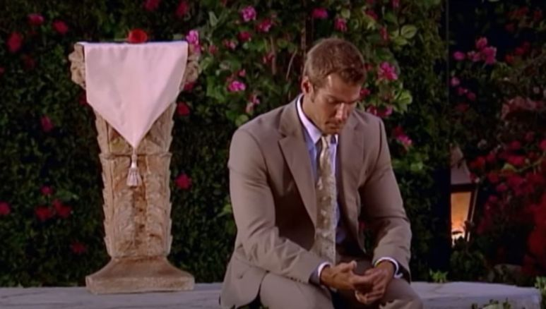 Brad Womack sits alone after the rose ceremony