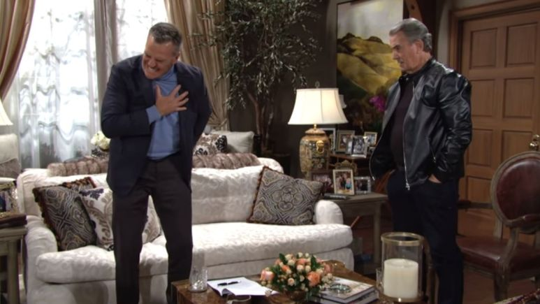 The Young and the Restless spoilers reveals Ashland faces a medical crisis.